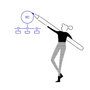 illustratie werkprocessen visualiseren