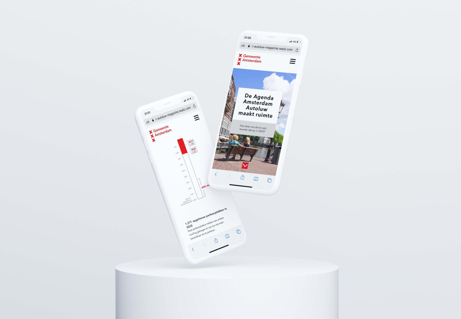 Mobile design magazine