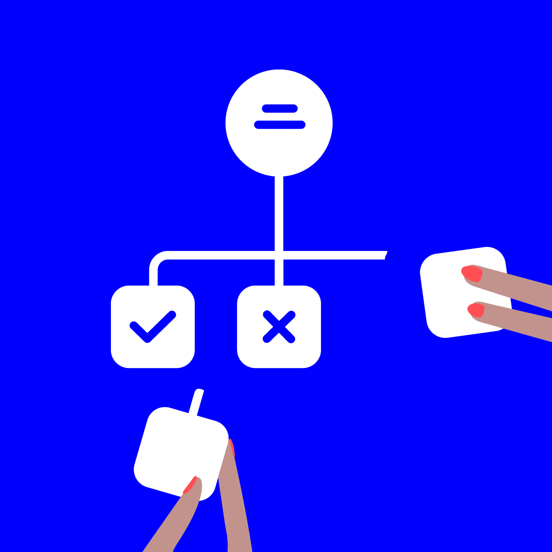 illustratie bij visualiseren van processen